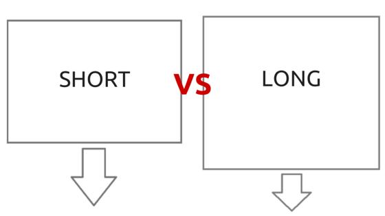 Short vs. Long Blog Post: Which is Better?