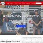 Arizona Garage Door's New Website