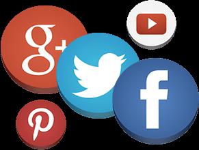 Icons of Top Social Media Platforms